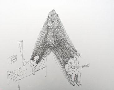 Untitled, drawing, Koosje Schmeddes