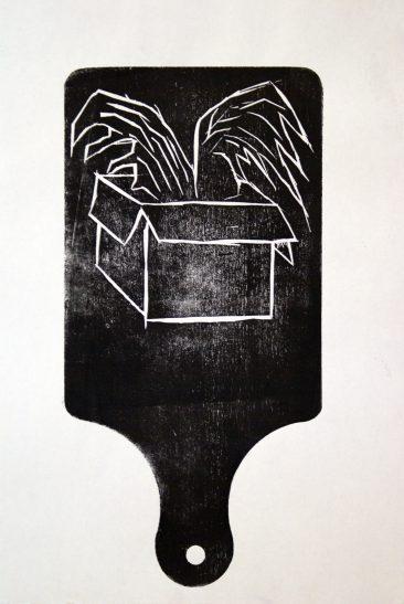 koosje schmeddes woodcut
